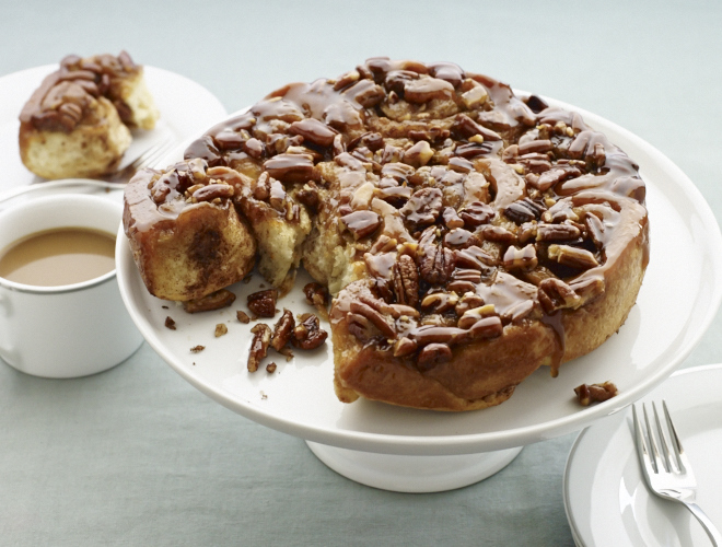 decadent sticky buns